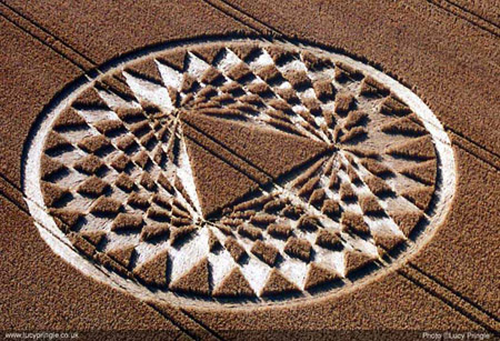 Aldbourne Crop Circle 2005