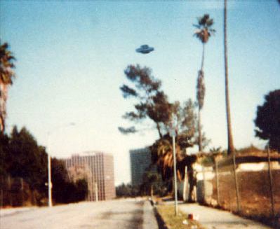 UFO in Downtown Los Angeles