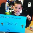 Eight-year-old Martin Richard