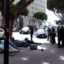 Photo: Video shows Los Angeles police shooting homeless man dead