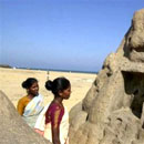Photo: Tsunami Reveals Ancient Ruins in India