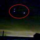 Three Glowing UFO Orbs Recorded Over Russia