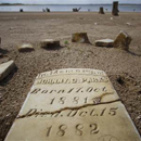 Photo: Depleted Texas lakes expose ghost towns, graves