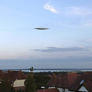 Disc-shaped UFO in Portsmouth
