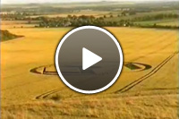 Video: Lights forming crop circles